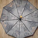 Зонт полуавтомат с принтом, фото 6