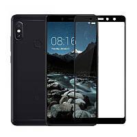 Защитное стекло Xiaomi Redmi S2 / Redmi Y2 5.99'' Full cover черный 0,26мм в упаковке