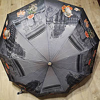 Зонт от дождя полуавтомат light складной, фото 1