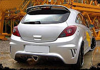 Задний бампер для Opel Corsa D (2006-...)