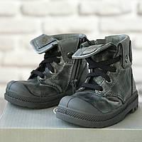Кожаные ботиночки Palladium р 20. Кожаная ортопедическая обувь