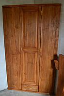 Шкаф состаренный из массива ( классического дизайна)