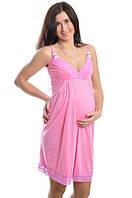 Ночная рубашка для беременных и кормления