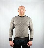Полосатый демисезонный мужской свитер, фото 1