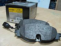 Тормозные колодки VW Golf VII 2013-
