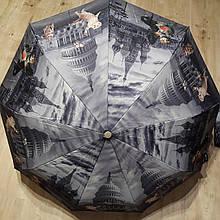 Зонт от дождя полуавтомат складной