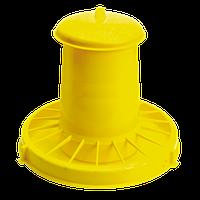 Кормушка пластиковая для домашней птицы 10.5 л, Novital Италия