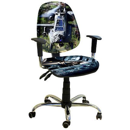 Кресло Бридж Хром Дизайн №17 Вертолёт, фото 2