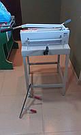 Механическая гильотина Ideal 3905-95 (Германия) б/у (со столом-подставкой)