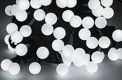Новорічна гірлянда 500 LED / 50 м, Білий холодний світ