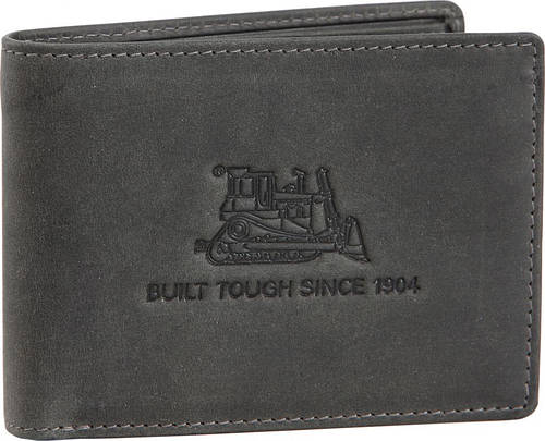 Бумажник  мужской кожаный CAT Cultivation 80609W;49 серый
