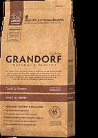 Grandorf (Грандорф) Sensitive Care Holistic Duck & Potato All Breeds корм для всех пород с уткой, 3 кг