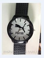 Наручные повседневные часы с силиконовым стильным ремешком Риma (Арт. 7090-1)