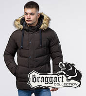 Зимняя куртка модная Braggart Youth - 25370 кофе