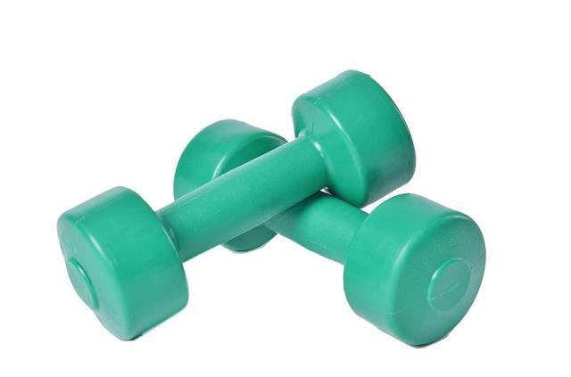 Гантели для фитнеса в пластике ТМ Plenergy