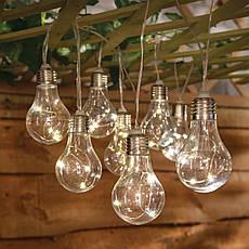 "Новогодняя гирлянда ""Лампочки"" 100 LED IP44, фото 2"