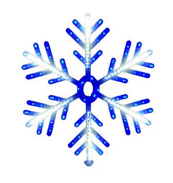 """Новогодняя подвеска """"Снежинка"""" 168 LED SMD, Диаметр 60 см, фото 2"""