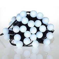 Новогодние шары 50LED,  белый холодный свет, фото 3