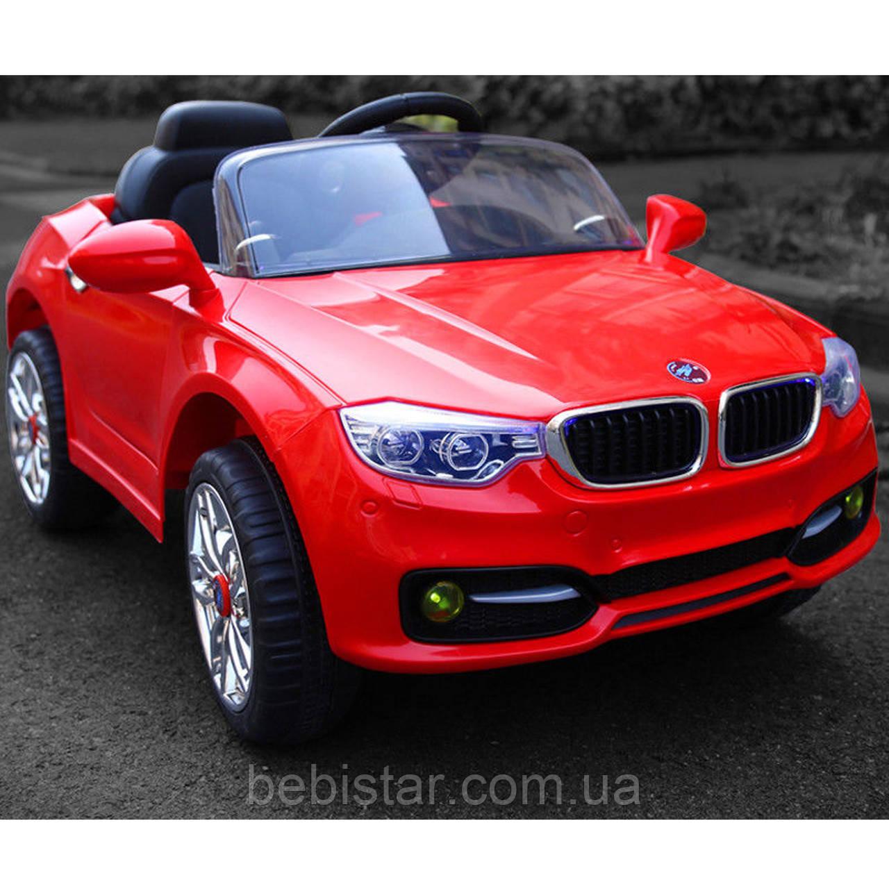 Электромобиль спортивный T-7610 RED для деток 3-8 лет мотор 2*25W аккумулятор 2*6V4.5AH