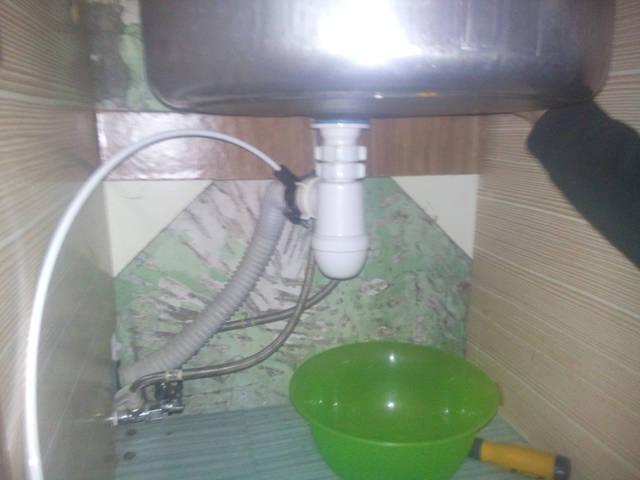 Подключение пластиковых труб