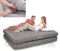 "Надувная односпальная кровать ""Intex"" 99 х 191 х 46 без насоса"