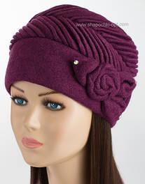 Фактурная женская шапка Kartazon-52