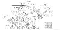 Трубка топливная Subaru Forester S12, 2007-2012, 17542AA060