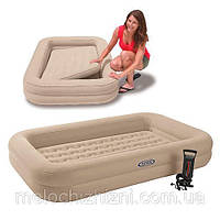 Надувная односпальная кровать (Арт. 66810)