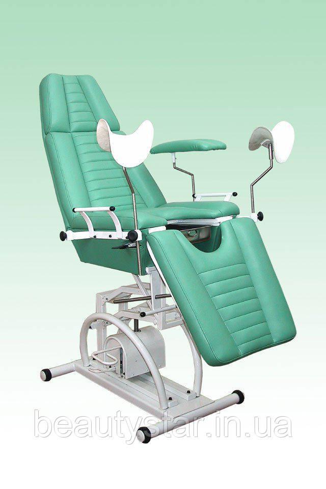 Кресло гинекологическое с гидравлической регулировкой высоты