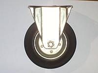 Колесо неповоротное с крепёжной панелью d=160