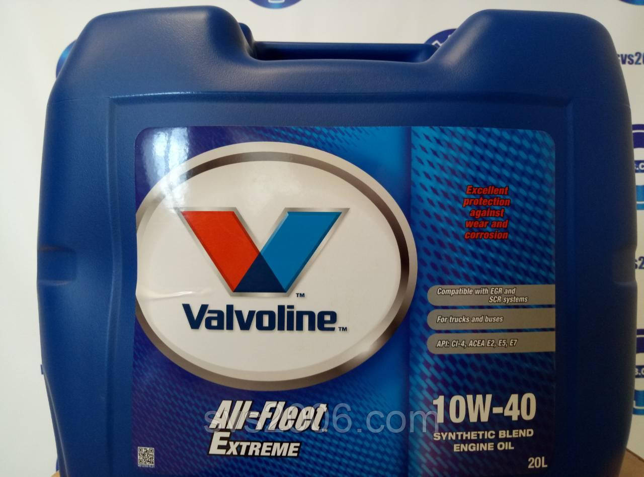 Масло моторное VAL ALL FLEET EXTREME 10W40 PL 20 L