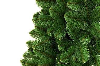 Искусственная новогодняя елка на натуральном стволе 200 см + гирлянда в подарок, фото 2