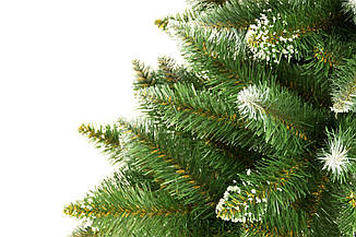 Искусственная новогодняя елка на натуральном стволе 120 см + гирлянда в подарок, фото 2