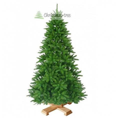 """Елка """"Рождественская"""" на деревянной подставке 155 + гирлянда в подарок, фото 2"""