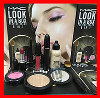 Набр косметики МАС 8in1 LOOK IN A BOX FASHION COLOR, фото 1