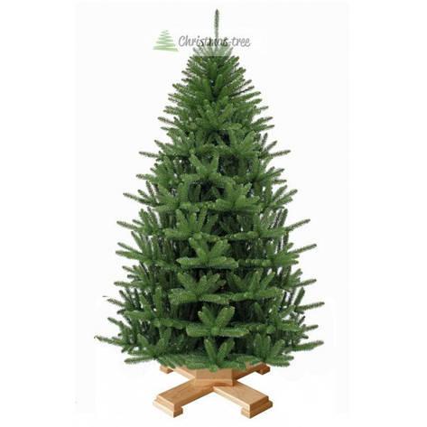 """Елка """"Альпийское рождество"""" на деревянной подставке 155 + гирлянда в подарок, фото 2"""