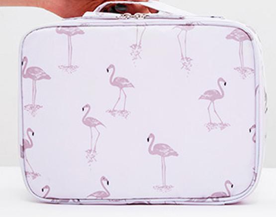 Органайзер   для косметики Фламинго розовый
