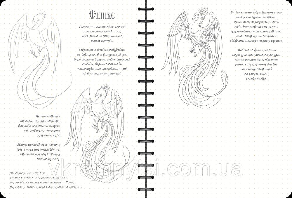 Sketchbook. Скетчбук. Малюємо фантастичних істот. Експрес-курс ... d30226b6f662d