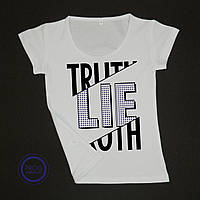 Футболка жіноча TRUTH-LIE