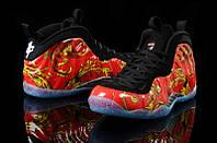 Баскетбольные кроссовки Nike AIR FOAMPOSITE orange