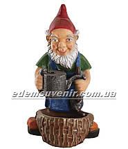 Садовая фигура Гном садовник, фото 2