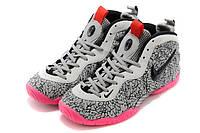 Баскетбольные кроссовки Nike AIR FOAMPOSITE grey-pink