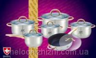 Набор кухонной посуды 12 предметов Grand Line (Арт. 3205)