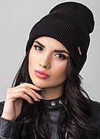 Удлиненная шапка с отворотом Peri 2 F Uni черный