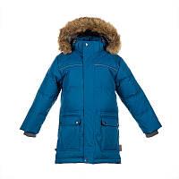 Зимняя парка - пуховик на 7 - 9 лет р. 122-134 LUCAS ТМ HUPPA куртка для мальчика 17770055-80066