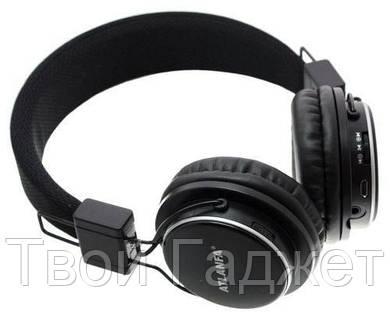 ОПТ/Розница Наушники с Bluetooth Atlanfa AT-7611 (Черные, встроенное радио, слот SD карты) БЕСПЛАТНАЯ ДОСТАВКА УКРПОЧТОЙ