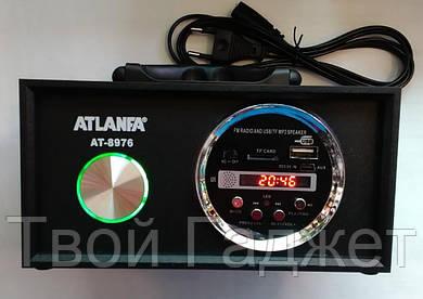 ОПТ/Розница Стерео-колонка от сети с USB, SD, FM-приемником ATLANFA AT-8976