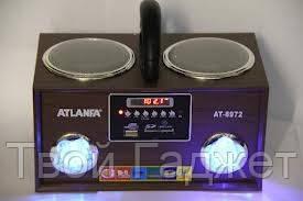 ОПТ/Розница Колонка с USB, SD, FM-приемником ATLANFA AT-8972