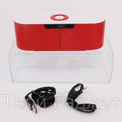 ОПТ/Розница Портативная колонка с Bluetooth, USB, SD, FM-приемником и сабвуфером S207=AT-7707