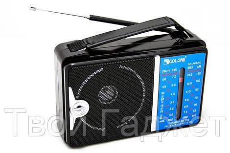 ОПТ/Розница Радиоприемник от сети с пятью волнами GOLON RX-A06AC